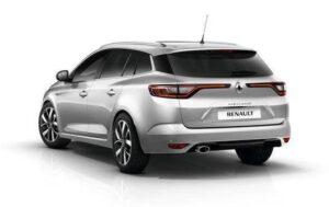 Wynajem samochodu Renault Megane KOMBI / 1,6 Benzyna Skrzynia: MANUALNA / Klasa A