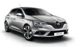 Wynajem samochodu Renault Megane , Hatchback 1,6              Skrzynia: Manual / Klasa A